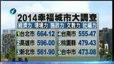 """[海峡午报]台湾:""""幸福城市调查""""台中垫底 胡志强:要检讨思考"""
