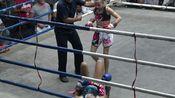【泰国小学生职业泰拳赛】(碾压)(ko)Jodie Mccarthy(11岁) vs Kulabdam Sit.Sor.Tor.Lek