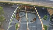 千人出动抢险广州地陷,3人坠入深坑30余小时,塌陷最深处达38米