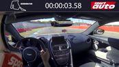 德媒测试 Aston Martin DBS Superleggera霍根海姆GP赛道车载视频 圈速1分54秒60