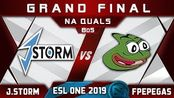 J.Storm vs Fighting Pepegas Grand Final NA ESL One Hamburg 2019 Dota 2