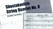 【弦乐四重奏】Shostakovich: String Quartet No.8, Op.110, Mvt.2(肖斯塔科维奇第八弦乐四重奏第二乐章)