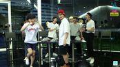 2015-08-08 {简短剪辑} RUN BTS直播泰国-身体贴贴纸游戏