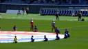 横浜F?マリノスvsガンバ大阪 赛文赛罗父子选手介绍特别演出(2012.5.19)