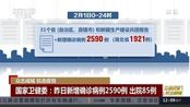 国家卫健委:昨日新增确诊病例2590例 出院85例