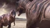 恐龙世界:鲨齿龙争地盘同类摶斗,以及猎杀无畏龙