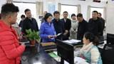 11.25林梅深入行政审批局和部分企业调研营商环境工作