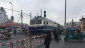 【2018.02.11】沈局梅段DF11牵引K7521(四平--通化)通过一建道口