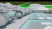 【坦克体积对比·3D】Tank Size Comparison 3D 60FPS
