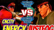 街霸5AE Justfog (Ryu) VS CNcity Enenrgy (M.Bison)