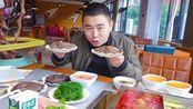 10盘毛肚2盘鸭肠,超小厨吃42元自助火锅,红汤涮毛肚吃过瘾