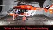 "FaB ""辛苦一天之后"" 场景 制作EC145 DRF 救援直升机 + 降落地点和乘员"