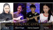 中/日/美/印尼,四国合作,Electric Gypsy - Andy Timmons, Cover by YOYO/Li-sa-X/Abim/Danny