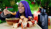 【吃蟹阿姨】12条龙虾尾,尝尝Dash Dame Dash的Flavas调味汁(2019年12月27日21时0分)