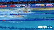 中国首冠!孙杨用实力说话!400米自由泳3分41秒38夺冠,霍顿亚军!