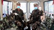 军地接力声援武汉武警福建总队漳州支队官兵唱响《加油武汉》