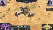 公寓杯3官方精选对局#8 黑鸭(马里) vs 火车(阿兹特克) Best Games of NAC 3 帝国2决定版