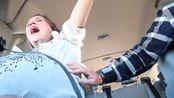 感动!临产前半小时产妇却还在路上,阵痛不断惨叫连连
