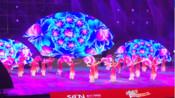 四川省群众广场舞集中展演节目   川人川味《花飞花舞》 广安体育馆  视频由秋秋提供