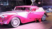 国内居然有这种老爷车,有谁知道这是什么车吗?看着好经典