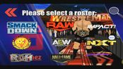 Aew革命大赛加WWE摔跤革命3d新增现役选手30多位,仅展示17首