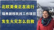 北欧餐饮文化正在崛起,华人餐厅准备好了吗?/瑞典劳动局职业介绍所新帮助移民找工作计划/发生火灾如何自救/20200221 欧洲新闻瑞典新闻华人北欧国家小事趣闻学