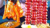 【深渊巨口小哥】助助助汤304961元王维也纳午餐肉炒饭里撒上紫菜粉和韩牛车大酱汤一起吃过吃的KOREA FOD (2020年1月6日20时30分)