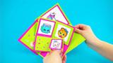幼儿园手工作业:五一小长假陪孩子一起做手工贺卡,简单易学