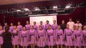 曲阳职教中心学生到北京求实职业学校访学汇报演出