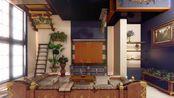 【艾德徒弟的装修笔记5】FF14/S房/偏现代居家
