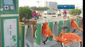 """济宁:公共自行车站点设置""""故障车停放处"""""""