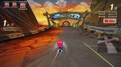 【跑跑卡丁车】S2侏罗纪恐龙坟墓 1分34秒87 黄金风翼9工厂改 普通玩家的练图日常