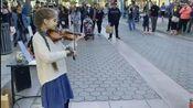 karolina protsenko violin演奏的我心永恒(第一次发,如有什么不当,劳烦各位大佬们提醒一下)