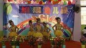 来宾市大学园七彩幼儿园《祖国的花朵》舞蹈