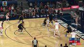 亚当熊NBA2k18,梦幻球队模式03,排位赛遇到小学生狂虐30分但还是很气