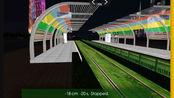 hmmsim2 广州有轨电车(日景加上夜景)