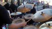 "Take The ""A"" Train (Arr. Gordon Goodwin) Water City Jazz Orchestra Drum Cam"
