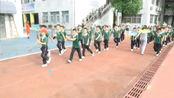 中山市东区竹苑小学大课间体操锻炼