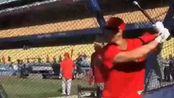 【190727】ShoheiOhtani大谷翔平:日本职业棒球手推特更新V相关:我要挥一整天的臂 〔日本棒球赛场BGM: A Brand New Day〕