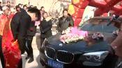 山西吕梁孝义农村结婚视频:迎亲场面太热闹