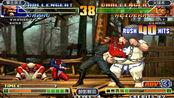 拳皇98c:哈迪伦又开启连续吸血模式,陈国汉都能彻底吸干