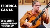 "【古典吉他】Luigi Legnani's ""Capriccio No. 2, Op. 20"" played by Federica Canta"