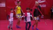 波莉 拉哈尤 vs加夫列拉 斯托伊娃 2020西班牙大师赛 女双总决赛