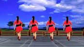 广场舞《黄土之恋》最新黄土情歌,歌美舞美,背面演示