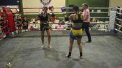【欧美成年人职业泰拳赛】(60kg)Thaíne Ribeiro vs Iandra Larisse