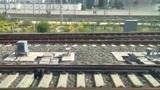 兰新高铁D2757次(兰州西—嘉峪关南)驶出兰州西站