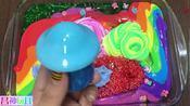 DIY手工制作混合商店购买粘液与自制粘液史莱姆视频