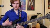 [bass]Pro:最难的8弦贝斯solo