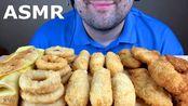 【russian eating】助眠洋葱圈、马苏里拉奶酪棒、炸鸡嫩肉卷和玉米煎饼(吃的声音)慕克邦(2020年2月28日20时21分)