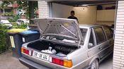 德国桑塔纳改装V8引擎 (Passat B2)